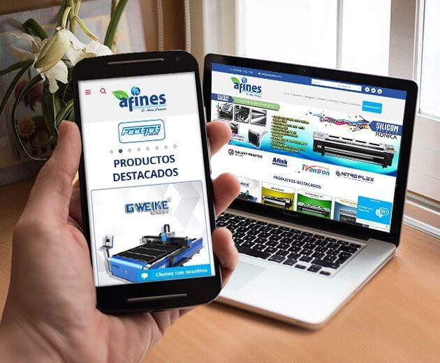 diseño de catalogo online