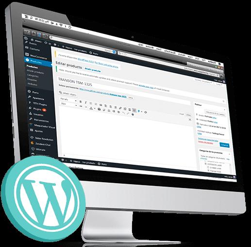 curso creacion paginas web con wordpress