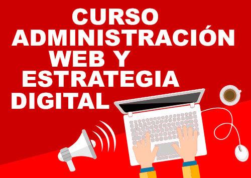 curso administracion web y estrategia digital