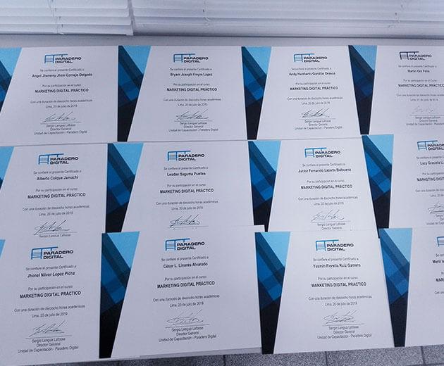 certificados curso marketing digital